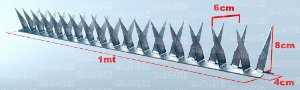 Lança Protetora p/ Muro GARONE 10mt