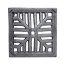 Grelha Ferro Fundido p/ Ralo 25 X 25cm