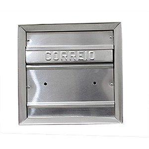 Caixa Carta Correio CARMAX Alum. Gradil