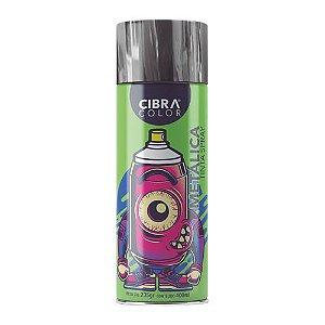 Tinta Spray CIBRACOLOR Cromo Metalica 400ML
