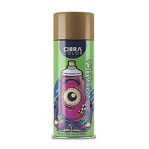 Tinta Spray CIBRACOLOR Ouro Metalica 400ML
