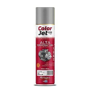 Tinta Spray Alta Temp. Alumínio 350ML RENNER