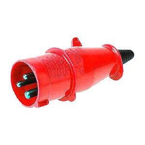 Plug Steck 2P+T 16A 380/440V 9H VM 3079