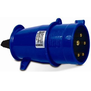 Plug Steck 3P+T 16A 200/250V 9H AZ 4079
