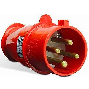 Plug Steck 3P+T 63A 380/440V 6H VM 4576