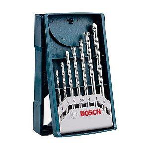 Kit Broca BOSCH Widea 7pç 3 a 8,0mm