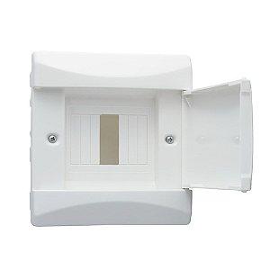 Centrinho Ar Condicionado CEMAR Pvc Embutir Branco