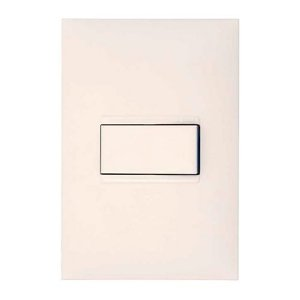Conjunto PIALPlus+ 4x2 Branco 1Paralelo 611111BC c/ Placa
