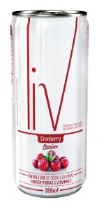 Suco Cranberry - 48 uni. latas