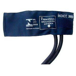 Braçadeira em nylon Neonatal 07 a 13cm com Fecho Velcro - Premium