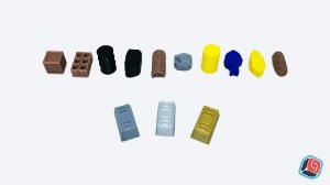 Recursos 3D Universais - 10 unidades