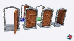 Porta Zombicide Black Plague - 12 unidades