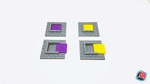 Trapdoor Zombicide - 4 unidades