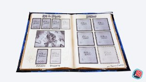 Playmat Individual The Big Book of Madness - 5 unidades