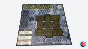 Playmat Tiny Epic Zombies