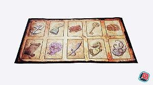 Playmat Dead Man's Draw - 4 unidades