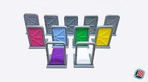 Porta Zombicide Invader - 11 unidades