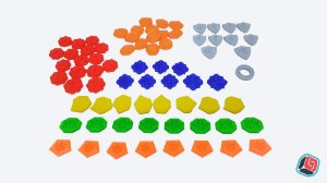 Kit de Tokens 3D Keyforge