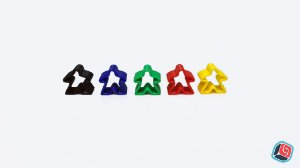 Meeples Fantasma Carcassonne