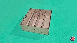 Caixa de Cartas Universal Vertical Personalizada em MDF