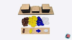 Kit PnP + Recursos 3D Kingdomino a Corte