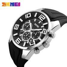 36085bd2f6d Relógio Masculino SKMEI Casual Quartz à Prova D  Água 9128