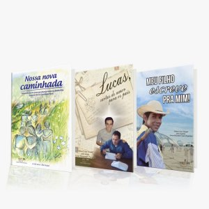 Kit 3 Livros Cartas consoladoras Nilton Stuqui