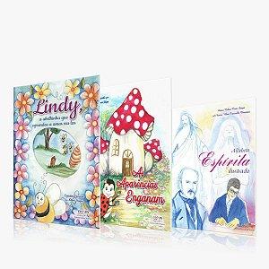 Kit 3 Livros Infantil