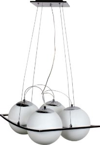 PENDENTE RICHMOND 42CM  E27 4 LAMP.