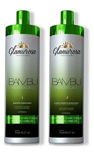 Glamurosa KIt Shampoo + Condicionador Bambu 1l