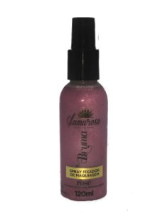 Bruma Fixadora Glamurosa -Rosê 120 ml
