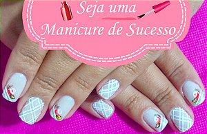 Curso De Manicure E Unhas Decoradas 2 Em 1 DVD