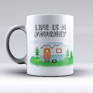Caneca - Life is a Journey