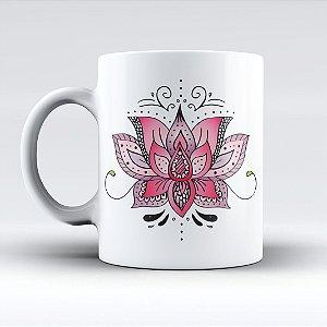 Caneca  - Flor de Lótus