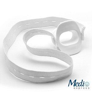 Bocal Para Endoscopia Adulto com Elástico - 5 Unidades