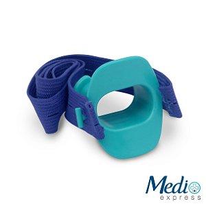 Bocal Para Endoscopia Adulto com Elástico - Verde - 5 Unids
