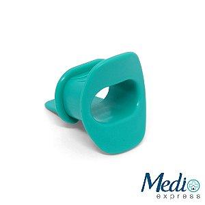 Bocal para Endoscopia adulto com aba Verde - 5 UN