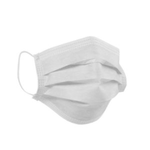 Máscara Descartável Tripla com Elástico - Anvisa - 50 unidades