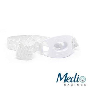 Bocal Para Endoscopia Adulto com Elástico Branco - M3 - 5 UN