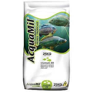 Ração Acquamil Furadinha Pesca P22 Pesqueiro 1kg