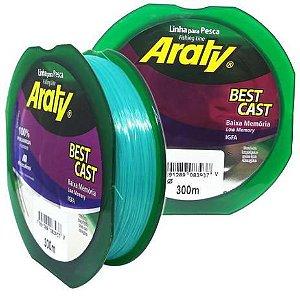 Linha Monofilamento Araty Best Cast 300m - Verde