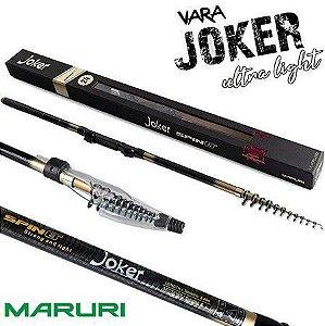 Vara Telescópica Maruri Joker Ultra Light 2,40