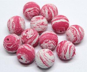 Eva Boleado - Pink com Branco 20 Unidades