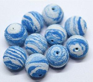Eva Boleado - Azul c/ Branco 20 Unidades