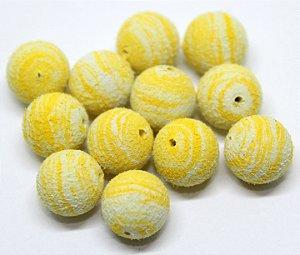 Eva Pesca Boleado - Amarelo com Branco 25 Unidades