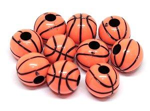 Miçanga:  bola de basquete  -  Laranja