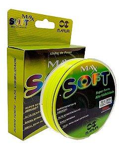Linha Monofilamento Max Soft 0,37mm - 300m - Amarelo