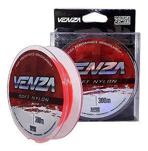 Linha Monofilamento Venza Soft Orange 0,37mm 300m