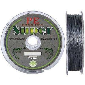Linha Multifilamento 4 fios Super PE 0,18mm 24lb