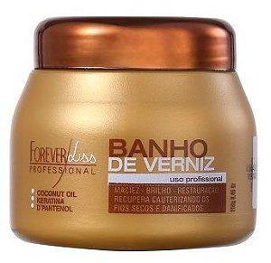 Forever Liss Máscara Banho de Verniz Brilho Hidratante 250g